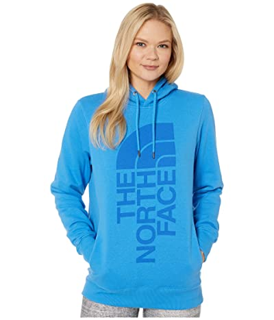 The North Face Trivert Pullover Hoodie (Clear Lake Blue) Women