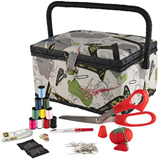 Best singer vintage sewing basket with sewing kit accessories 07281 Reviews
