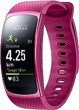 Samsung Gear Fit II-Smartwatch con cardiofrequenzimetro e Notifications Blue (S)