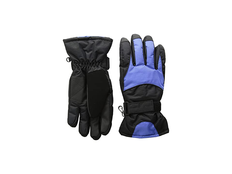 Tundra Boots Kids Nylon Gloves (Navy) Extreme Cold Weather Gloves