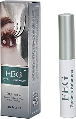 FEG Eyelash Enhancer Eye Lash Rapid Growth Serum Liquid 100% Original 3Ml (1 Pack)