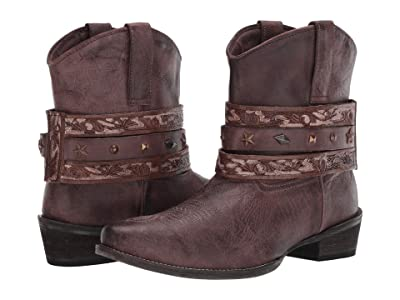 Roper Do Si Do (Brown Leather) Cowboy Boots