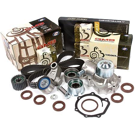 Evergreen TBK304WP3 Fits 03-05 Subaru Forester 2.5 SOHC Automatic Transmission Timing Belt Kit GMB Water Pump