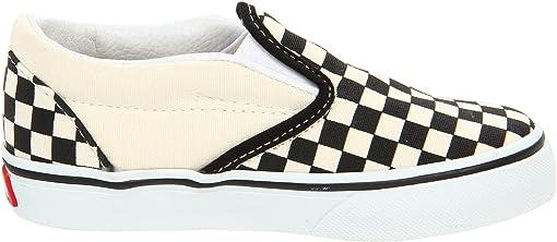 Black and White Checker/White