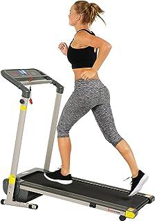 Sunny Health & Fitness SF-T7632 Space Saving Folding Treadmill w/LCD Display