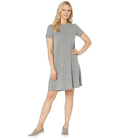 Alternative Eco-Jersey Flare T-Shirt Dress (Eco Grey) Women