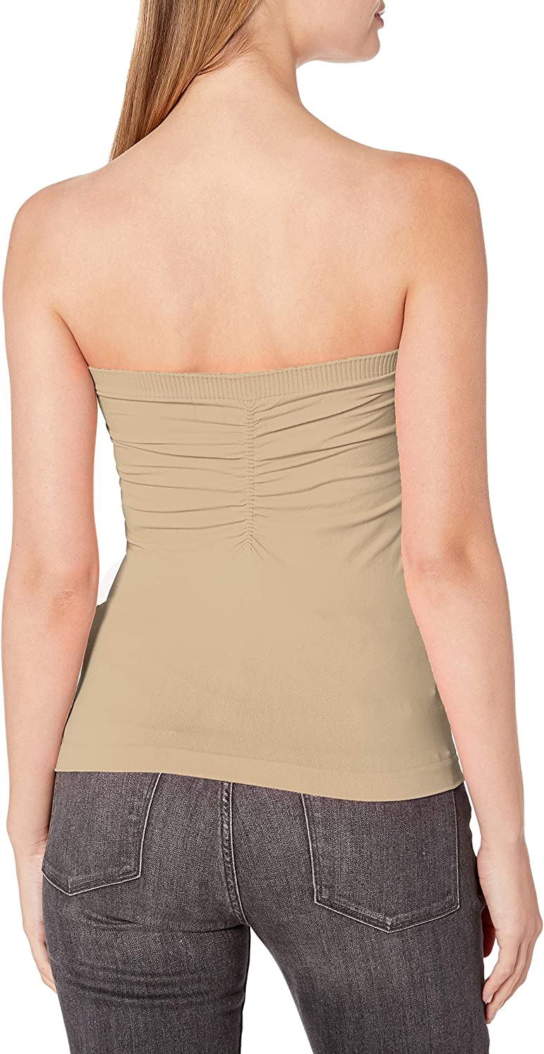Sugarlips Women's Cinched Strapless Seamless Top