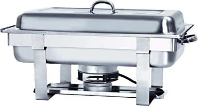 Chafing dish Bartscher GN 1/1 avec plaque chauffante électrique