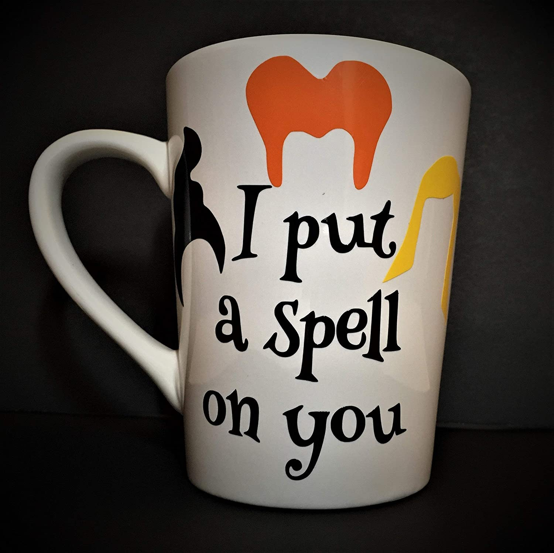 Hocus Pocus Inspired Coffee Mug I mug Large-scale sale you a on Max 53% OFF spell put