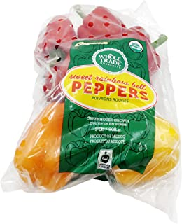 Pepper Bell Hh Rainbow 2lb Wtg Organic, 32 Ounce
