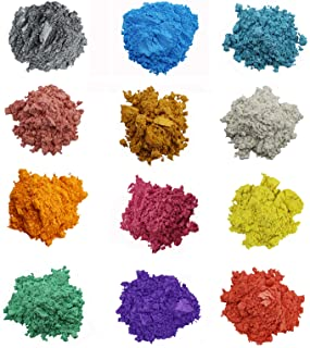 Mica Powder Pigment Dye Kit for DIY Epoxy Resin and Soap