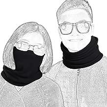 QINGLONGLIN 2 Pack Fleece Winter Neck Warmer for Men Women Ski Neck Gaiter Cover Face Mask