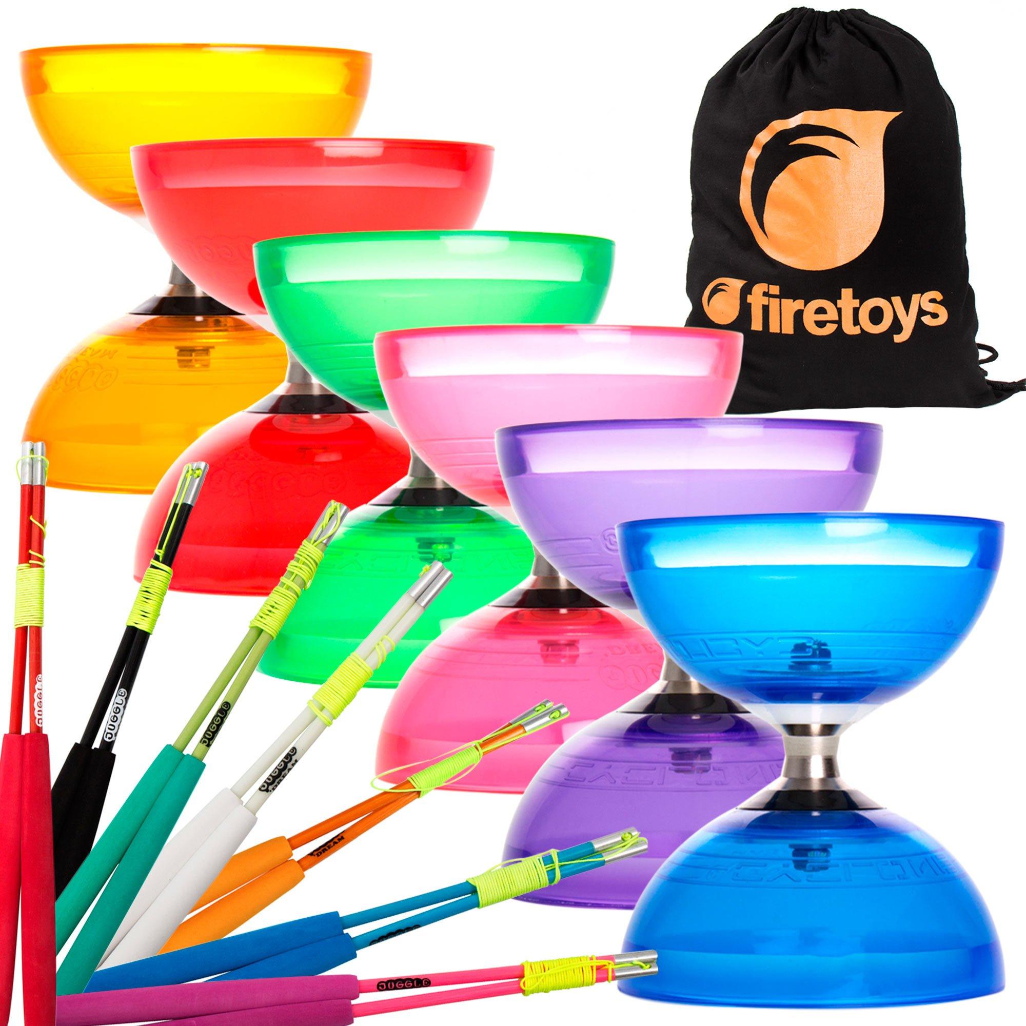 Juggle Dream Cyclone Superglass Firetoys