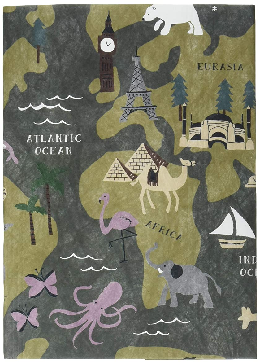銀行よろしくパイプラインアーティミス ブックカバー フリーサイズ 世界旅行 FFSBC