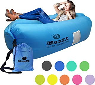 MaxIT Inflatable Hammock Sofa | Pool Floating Air Lounger...