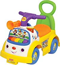 Little People Fisher-Price Music Parade Ride-On, White (Discontinued by Manufacturer)