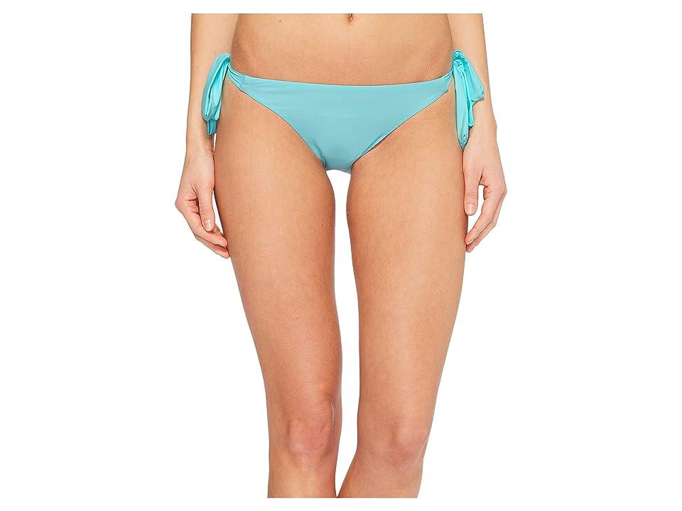 Sports Illustrated Juice Is Loose Tie Side Bikini Bottom (Mint) Women