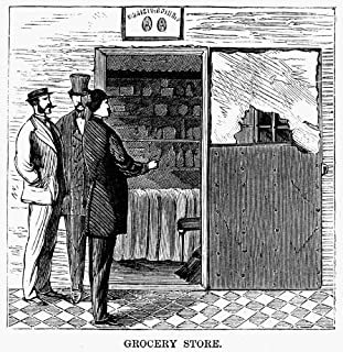 Ludlow Street Jail 1868 Nscene From The Ludlow Street Jail Situated At The Corner Of Ludlow Street And Essex Market Place ...