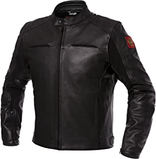 Russia Biker Leather Jacket - L (EU52-54)