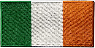 Republic of Ireland Flag Embroidered Irish National Emblem Iron On Sew On Patch