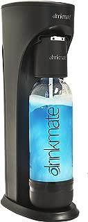 Drinkmate 410-02-3z Beverage Carbonation Maker with 3 oz Test Cylinder, Small, Matte Black