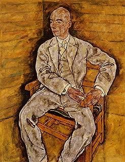 Portrait of Victor Ritter von Bauer by Egon Schiele - 20