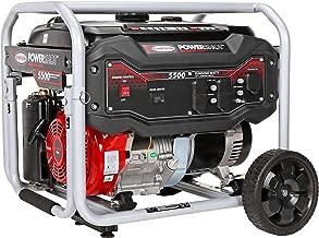 Simpson Cleaning SPG5568 5,500-Watt Portable Gas Generator, 5500 Watts