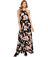 Brigitte Bailey - Capri High Neck Spaghetti Strap Maxi Dress