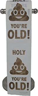Happy Birthday Toilet Paper Prank Funny Gag Gift!