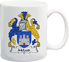 McLeod Coat of Arms/McLeod Family Crest 11 Oz Ceramic Coffee/Cocoa Mug by Carpe Diem Designs, Made in the U.S.A.