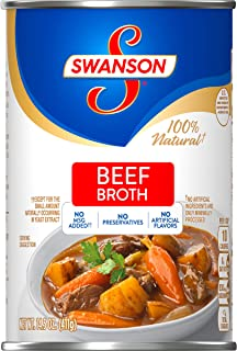 Swanson Clear Beef Broth, 14.5 oz. Can
