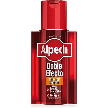 Alpecin Champú Cafeína C1, 2 x 250 ml – champú anticaída para ...