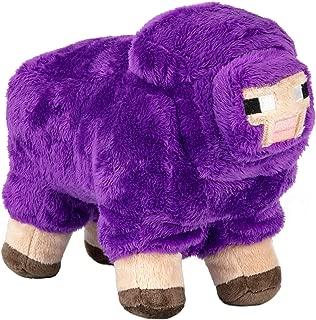 JINX Minecraft MINECON Earth 2016 Sheep Plush Stuffed Toy, Purple, 10