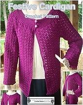 top down cardigan crochet pattern free