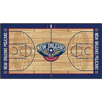 FANMATS NBA Brooklyn Nets Nylon Face NBA Court Runner-Large