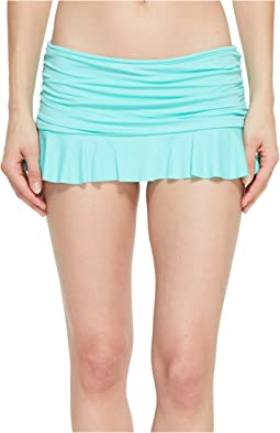 Island Goddess Ruffle Skirted Hipster