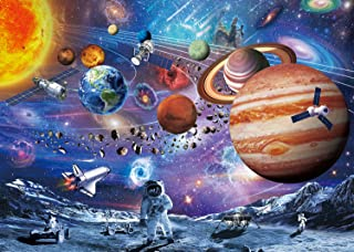 VanStar Space Puzzle 1000 Piece Puzzles for Adults Kids – Space Passenger, Floor Puzzle Kids Puzzle Toys & Birthday Gifts