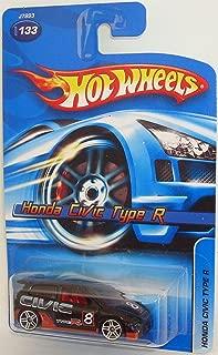 Hot Wheels 2006 Honda Civic Type R Black with PR5 Wheel Variant #2006-133
