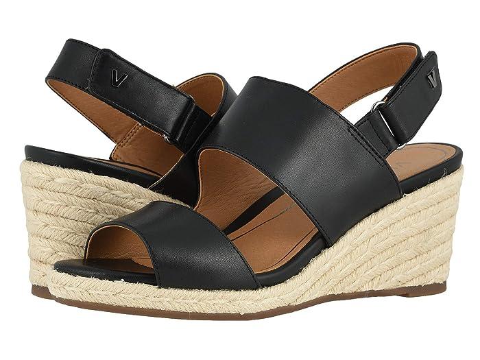 VIONIC  Brooke (Black Leather) Womens Shoes