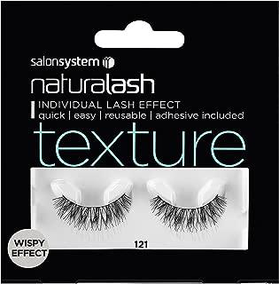 SalonSystem Naturalash Individual Lash Effect - Adhesive Included - Texture 121