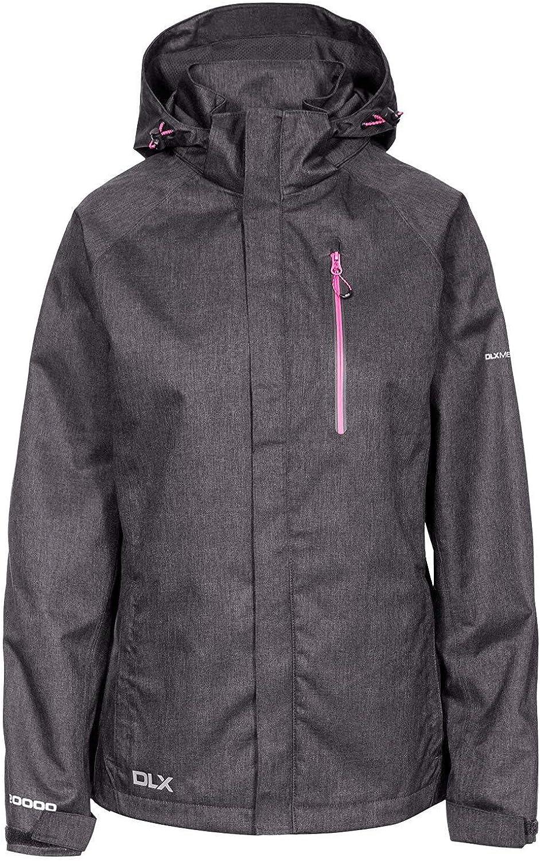 Trespass Women's Tiya Waterproof Jacket with Removable Hood