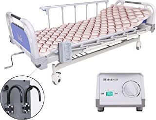 [Limited Promotion]Alternating Pressure Mattress Medical Air Mattress with Inflatable Pad & Electric Pump System for Ulcer Bedsore Prevention and Pressure Sore Treatment-Fits Standard Hospital Beds