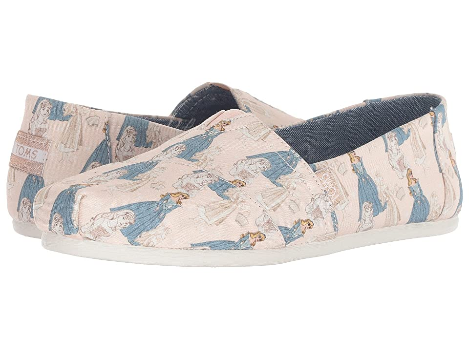 TOMS Disney(r) Alpargata (Pink Sleeping Beauty Printed Canvas) Women