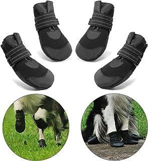 Hcpet Protectores de Pata de Perro, Zapatos Perro para Peque