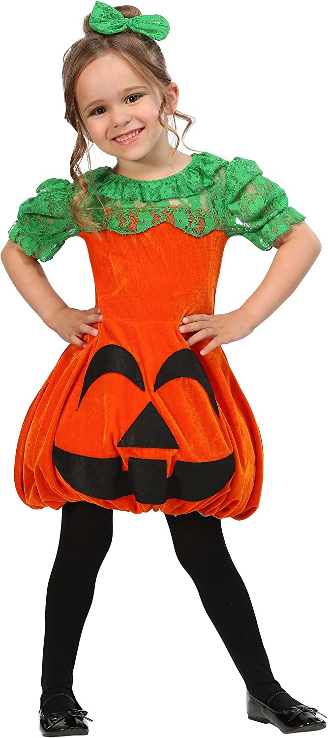 Pretty Pumpkin Toddler Costume 4T