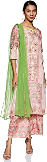 Aurelia Women's Straight Salwar Suit Set