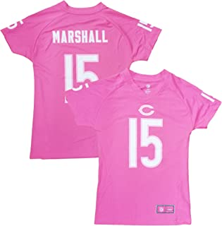 Outerstuff Brandon Marshall Chicago Bears Pink Performance Fashion Youth Jersey