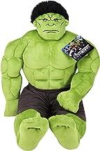 Jay Franco Avengers Plush Stuffed Hulk Pillow Buddy – Super Soft Polyester..