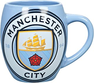Manchester City FC Official Ceramic Football Crest Tea Mug