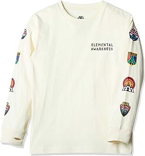 [エレメント] [ キッズ ] 長袖 プリント Tシャツ (USAコットン) [ AI026-052 / EA PATCHED LS TEE ] かわいい 子供服
